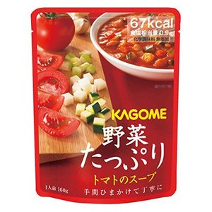 カゴメ 【備蓄用】 野菜たっぷりトマトのスープ 160g×30袋 (1ケース) 1ケース 送料無料|hc7