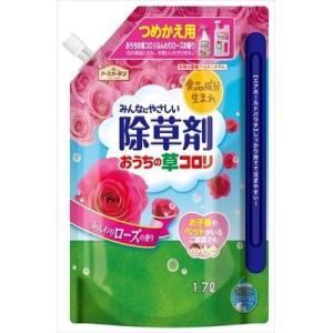 おうちの草コロリつめかえ1.7Lローズの香り (1700ML) おうちの草コロリつめかえ1.7Lローズの香り|hc7