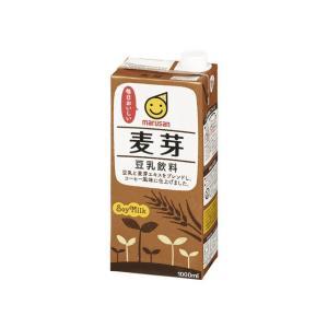 マルサンアイ 麦芽豆乳 1000ml×6本(1ケース)  1ケース|hc7