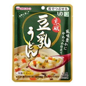 ★★和光堂 食事は楽し 京風豆乳うどん 100g×12個(1ケース)<区分3> 1ケース|hc7