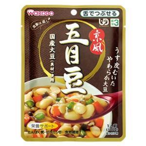 ★★和光堂 食事は楽し 京風五目豆 100g×12個(1ケース)<区分3> 1ケース|hc7