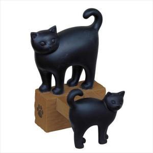 【取寄品】クロネコ[スマホスタンド]スマートフォンスタンド/親子ネコ ねこ|hc7