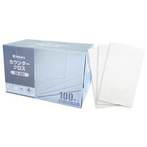 業務用 カウンタークロス CR-601 35×60cm ホワイト 100枚入 単品1個|hc7