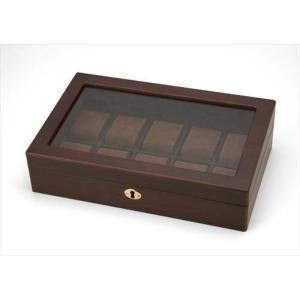 【取寄品】Wooden ウォッチケース(10本用) Woodenウォッチケース(10本用) 送料無料 hc7