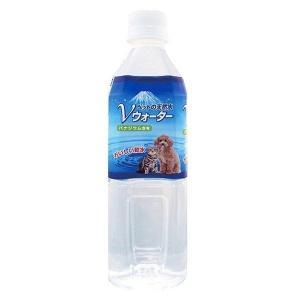 ペットの天然水 Vウォーター 500mL アース [犬猫用飲料水 ナチュラルミネラルウォーター]|hc7
