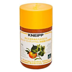 クナイプ バスソルト オレンジ・リンデンバウム(菩提樹)の香り (850g)|hc7