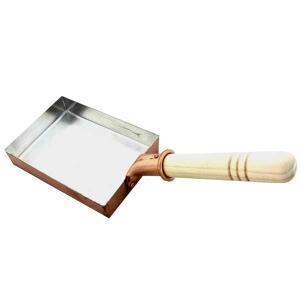 中村銅器製作所 銅製 卵焼き鍋 長形 12cm|hc7