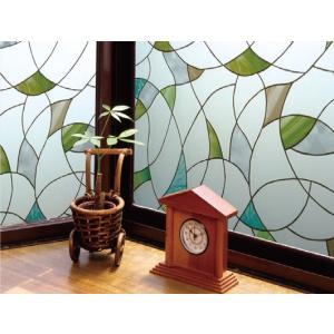 明和グラビア 窓飾りシートGH-4603(ガラスフィルム) 46x90cm|hc7