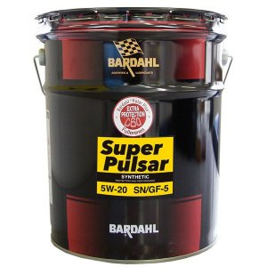 BARDAHL(バーダル) スーパーパルサー N 部分合成油 API:SN SAE:5W-20 容量:20Lペール BARDAHL [自動車 エンジンオイル] hc7