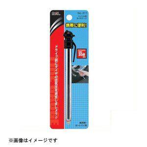 大橋産業 BAL タイヤゲージ アナログタイプ ペンシル型 No.211 4960169002115