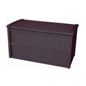 組立式収納庫 200L ブラウン【送料無料】/収納庫屋外 屋外収納庫 布団収納庫 床下収納庫 タイヤ収納庫