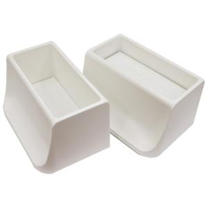 WAKAI ディアウォール ホワイト(白)ツーバイフォー材 2×4材専用壁面突っ張りシステム 上下パッドセット DWS90 4903768555392|hcbrico