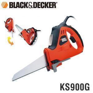 (送料無料)BLACK&DECKER ブラック&デッカー 電動式ノコギリ/ジグソー KS900G 4...
