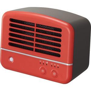 (送料無料)DOSHISHA ドウシシャ 人感センサー付き パーソナルセラミックヒーター THC-1061J RD レッド|hcbrico