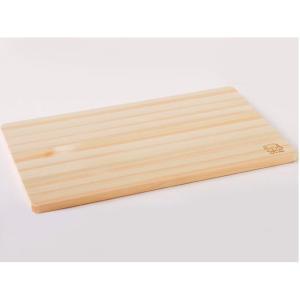 池川木材 桧 うす型まな板 48cm  約480mm×290mm×15mm (宅配便配送のみ)|hcbrico