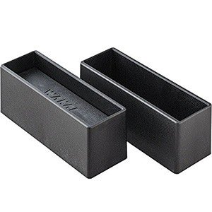 WAKAI ツーバイシックス材 2×6材専用 ディアウォールS ブラック(黒)上下パッドセット DWS26BK hcbrico