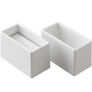 WAKAI 2×4材専用 ディアウォールS ホワイト(白)上下パッドセット DWS24W 左右対称タイプ|hcbrico