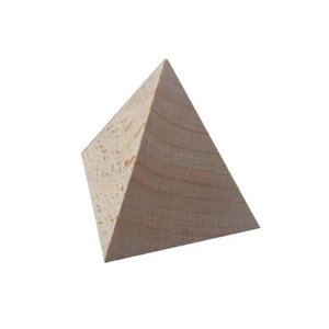 川合木工所 アートブロック 四角錐 4AB 50×50×50 hcbrico