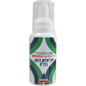 アクリサンデー ポリケア F70 静電気防止プラスクリーナー プラスチック用|hcbrico