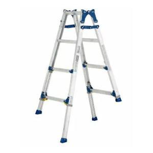 (送料無料)(直送)ALINCO アルインコ 伸縮脚付はしご兼用脚立120cm PRE-120FX