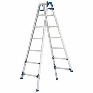 (送料無料)(直送)ALINCO アルインコ 伸縮脚付はしご兼用脚立210cm PRE-210FX