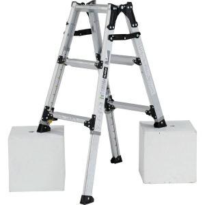 (送料無料)(直送)ALINCO アルインコ 伸縮脚付はしご兼用脚立90cm PRW-90FX|hcbrico