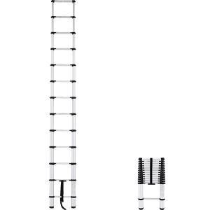 (送料無料)(直送)アルインコ アルミ伸縮式はしご 3.83m MW-39A|hcbrico