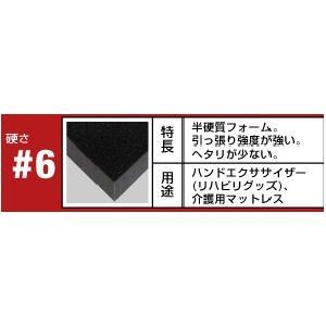 (8枚セット)(送料無料)八幡ねじ ウレタンフォーム #6 105mm×210mm×50mm|hcbrico