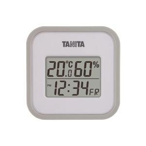 タニタ デジタル温湿度計 TT−558−GY【4904785555808:15099】