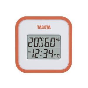 タニタ デジタル温湿度計 TT−558−OR【4904785555815:15099】