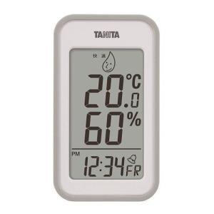タニタ デジタル温湿度計 TT−559−GY【4904785555907:15099】