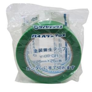 ダイヤテックス パイオランクロス養生用テープ 緑 25mm×25m【4967529562029:15...