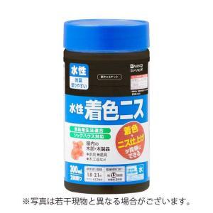 カンペハピオ 水性着色ニス 新ウォルナット 300ML【4972910391119:12168】