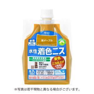 カンペハピオ 水性着色ニス 新メープル 0.7L【4972910391164:12168】