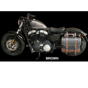 【デグナー】NB-100-BR デグナー ナイロンサドルバッグ ブラウン 17L