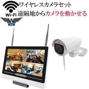パンチルト 首ふり ワイヤレス防犯カメラ 監視カメラ 220万画素 WI-FI環境対応 台数自由 1台-4台セット HDC-EGR12 イーグル NVR WTW-EGR993PT hdc