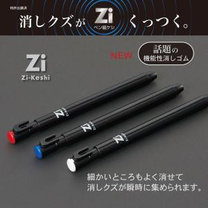 ペン磁ケシ 文具 新学期 入学準備 Zi-Keshi 日本製 ペン消しゴム RE034WH RE034BL RE034RD 【メール便 送料無料】|hdc