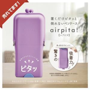 ペンケース 筆箱 スタンドペンケース シリコン 置くだけで倒れないペンケース シリコンペンケース 【エアピタ airpita AK053 定形外送料無料】|hdc