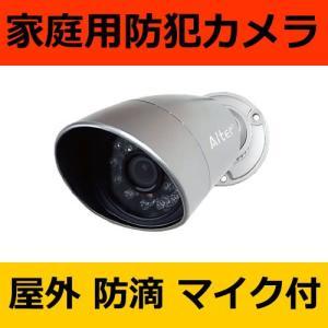 防犯カメラ 家庭用 赤外線内蔵小型防犯カメラ AT-1300|hdc