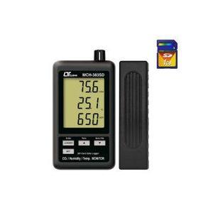 SDスロット付データロガデジタル温湿度・CO2計 MCH-383SD|hdc