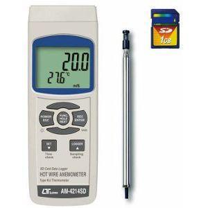 デジタル風速計 AM-4214SD 熱線式風速計 マザーツール 計測器 計測機|hdc