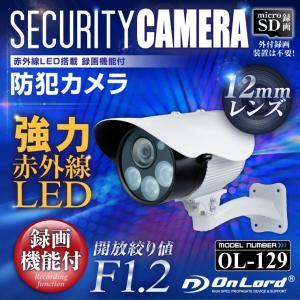 防犯カメラ sdカード録画 屋外 監視カメラ  OL-129|hdc
