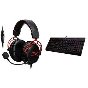 HyperX Cloud Alpha ゲーミングヘッドセット HX-HSCA-RD/AS + Hyp...