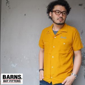 [ ブランド ]BARNS バーンズ [  商品名  ]ボーリングシャツ [  カラー  ]2COL...