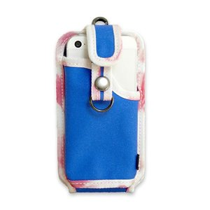 A iPhone Holder UNiCO2 for iPhone5s/5c/5 [BLUE] / そのまま使える便利な電話ホルダーケース|heads-yokohama
