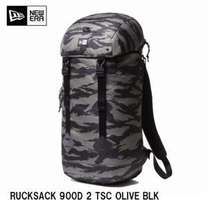NEWERA Rucksack ラックサック タイガーストライプカモ オリーブ11404174 RUCKSACK 900D 2 TSC OLIVE BLK|headwear-blake
