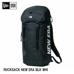 送料無料NEWERA ラックサック プリントロゴ ブラック × ホワイト 11556631 RUCKSACK NEW ERA BLACK WHITE ニューエラ バッグ メンズ  カジュアル|headwear-blake