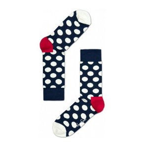 Happy Socks ハッピーソックスソックス 靴下 レディース メンズ【ブルー, ホワイト, レッド  ビックドット】COMBED COTTON|headwear-blake