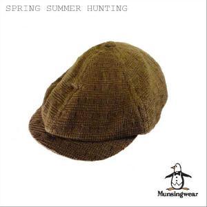 帽子 【紫外線カット 】【UVカット】【紫外線防止】【紫外線対策】【ギフト】【プレゼント】【Munsingwear】SPRING&SUMMER HUNTING headwear-blake