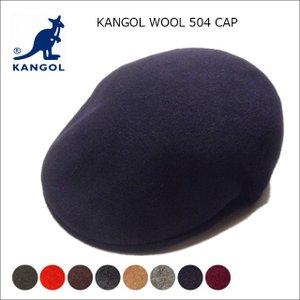 KANGOL カンゴール ハンチング ウールキャップ KANGOL wool CAP メンズ ハンチング ウール 帽子メンズ wool CAP 504|headwear-blake